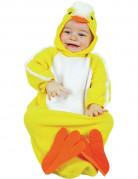 Disfraz de polluelo para beb�