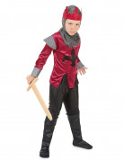 Medieval king knight costume for boys.