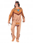Red Indian costume for men