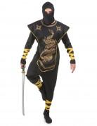 Ninja-Kost�m Gold f�r Herren