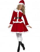 Weihnachtsfrau Kost�m f�r Damen