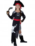 Disfraz de jefa de los piratas para ni�a
