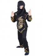 Black Ninja costume for boys.