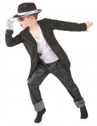 Black Pop Star costume for boys.