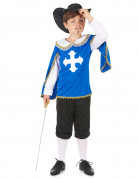 Blue Musketeer costume for boys.