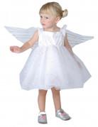 Disfraz de princesa de los �ngeles para ni�a peque�a