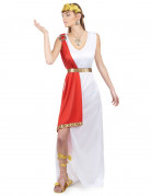 Roman goddess costume for women.