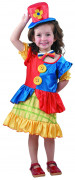 Clown costume for girls.