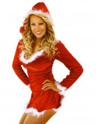 Women's Sexy Miss Santa Costume