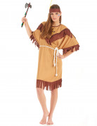 Red Indian costume for women