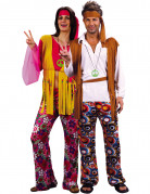 D�guisement couple de hippies