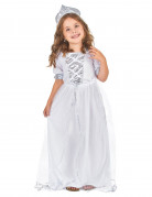 Silver Princess costume for girls.
