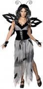 Disfraz de mariposa t�trica para mujer, ideal para Halloween