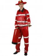 Feuerwehr-Kost�m f�r Erwachsene