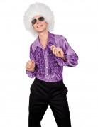 D�guisement disco homme violet