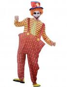 Clown Herrenkost�m Halloween