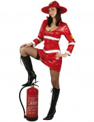 Sexy firewoman costume for adults