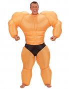 Bodybuilder-Erwachsenenkost�m aufblasbar