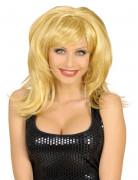 Perruque blonde de femme