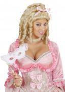 Perruque blonde de princesse femme