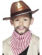 Ihnen gefällt sicherlich auch : Sheriffhut braun f�r Jungen