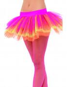 Tut� rosa, amarillo y naranja para mujer
