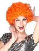 Ihnen gefällt sicherlich auch : Orangene Per�cke Afro-Frisur