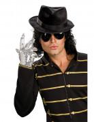Silberner Mickael Jackson�-Handschuh f�r Erwachsene