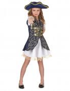 Anche ti piacer� : Costume blu scuro pirata bambina