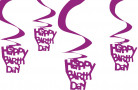 D�corations a suspendre happy birthday
