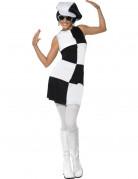 Vous aimerez aussi : D�guisement disco femme blanc et noir