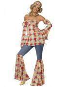 Ihnen gefällt sicherlich auch : Hippie-Kost�m 70er Jahre f�r Damen