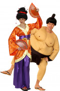 Geisha and Sumo costumes for couples