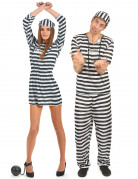 Disfraz de pareja de presos