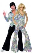 Disfraz de pareja estilo disco