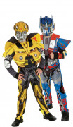 D�guisement couple Bumble bee et Optimus Prime Transformers� enfants