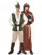 Duo Robin and monk costumes