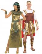 Disfraz de pareja m�tica de Cleopatra y emperador romano