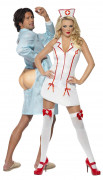 Sexy nurse and her patient costumes for couple