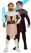D�guisement duo Anakin Skywalker et Obi wan Kenobi Star Wars� enfants