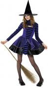 Disfraz de bruja adolescente ideal para Halloween