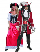 Authentic pirate costumes for couple