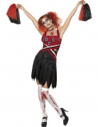 Zombie-Cheerleaderin-Kost�m f�r Damen