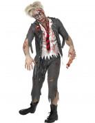 D�guisement zombie �colier homme Halloween