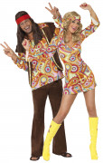 Hippy costumes for couple