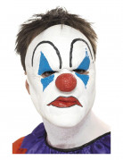 Demi-masque de clown adulte