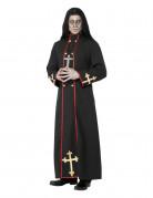 Priester-Kost�m Halloween f�r Erwachsene