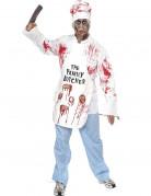 D�guisement zombie chef cuisinier adulte Halloween