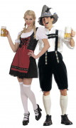 Bavarian costume for couple