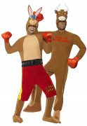 boxer Kangaroo and taurus costumes for couple